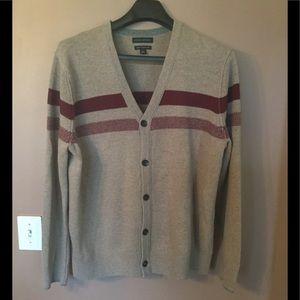 🆕 Men's Merino Wool Cardigan Sweater !